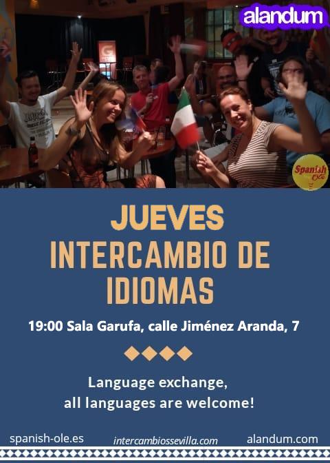 INTERCAMBIOS DE IDIOMAS